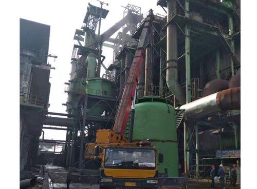 官网注册德胜集团钒钛有限公司炼铁厂3#高炉旋风除尘器项目