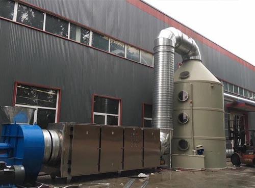 官网注册金龙鱼饵有限公司废气处理项目
