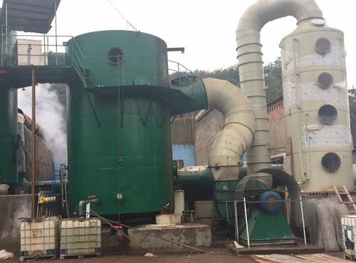 官网注册龙星砖厂除尘脱硫脱硝(超低排放)项目